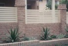 Asquith Brick fencing 12