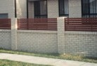 Asquith Brick fencing 13