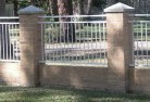 Asquith Brick fencing 5