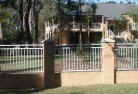 Asquith Brick fencing 9